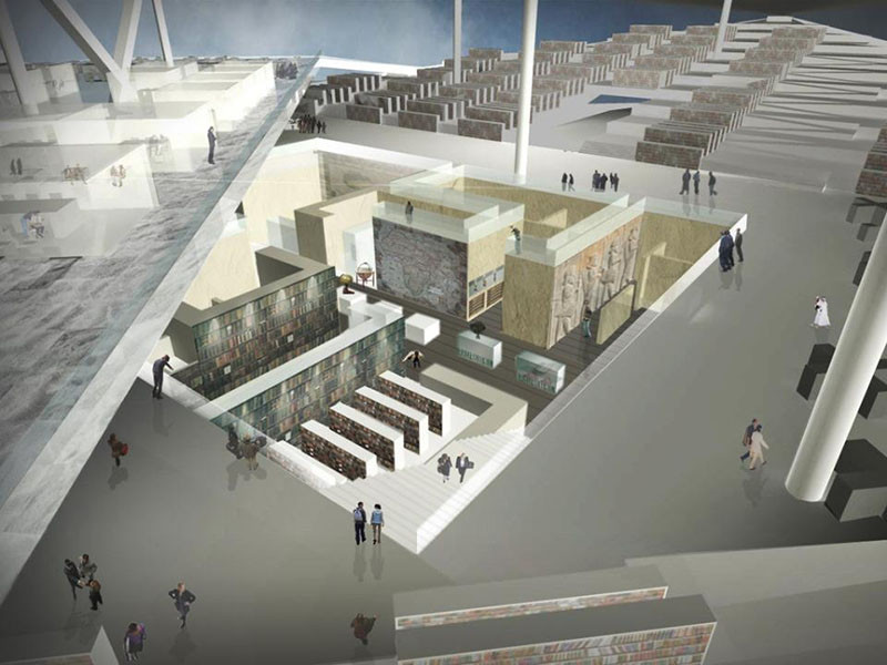 """OMA To Design """"Iconic"""" Qatar National Library"""