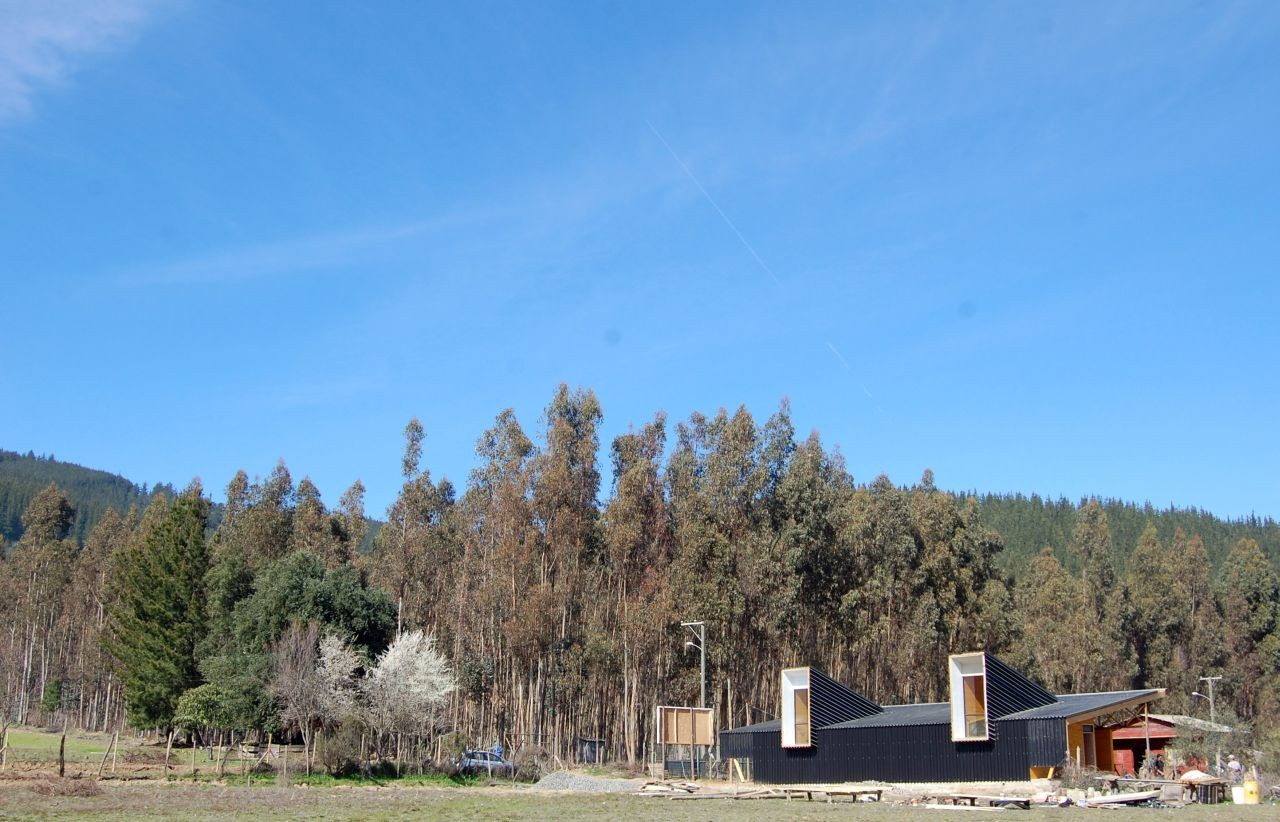Community Center at Batuco Abajo / Luis Quezada, Courtesy of Luis Quezada