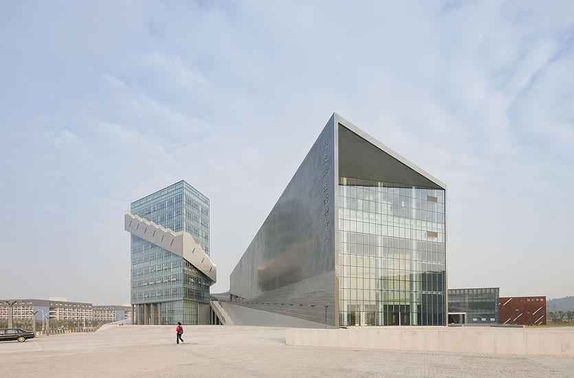 Nanjing Performing Arts Center / Preston Scott Cohen, © Iwan Baan