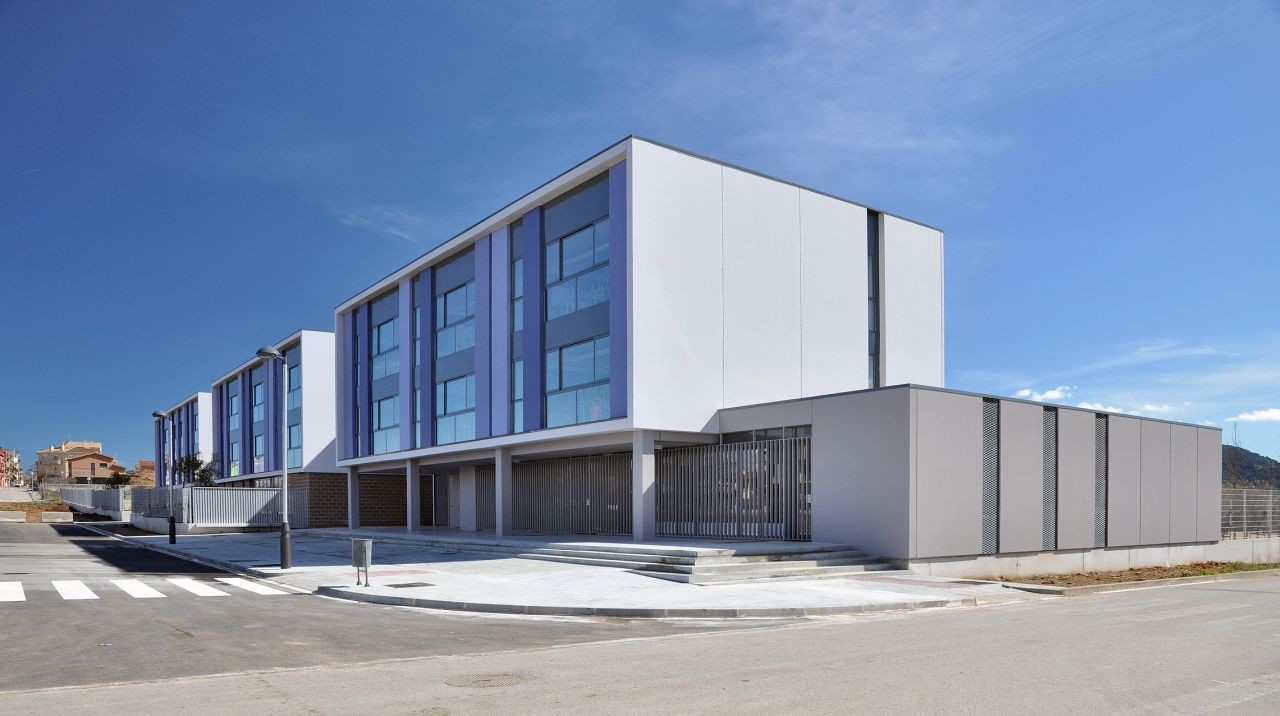 Secondary School Pla Marcel / ONL Arquitectura, Courtesy of ONL Arquitectura