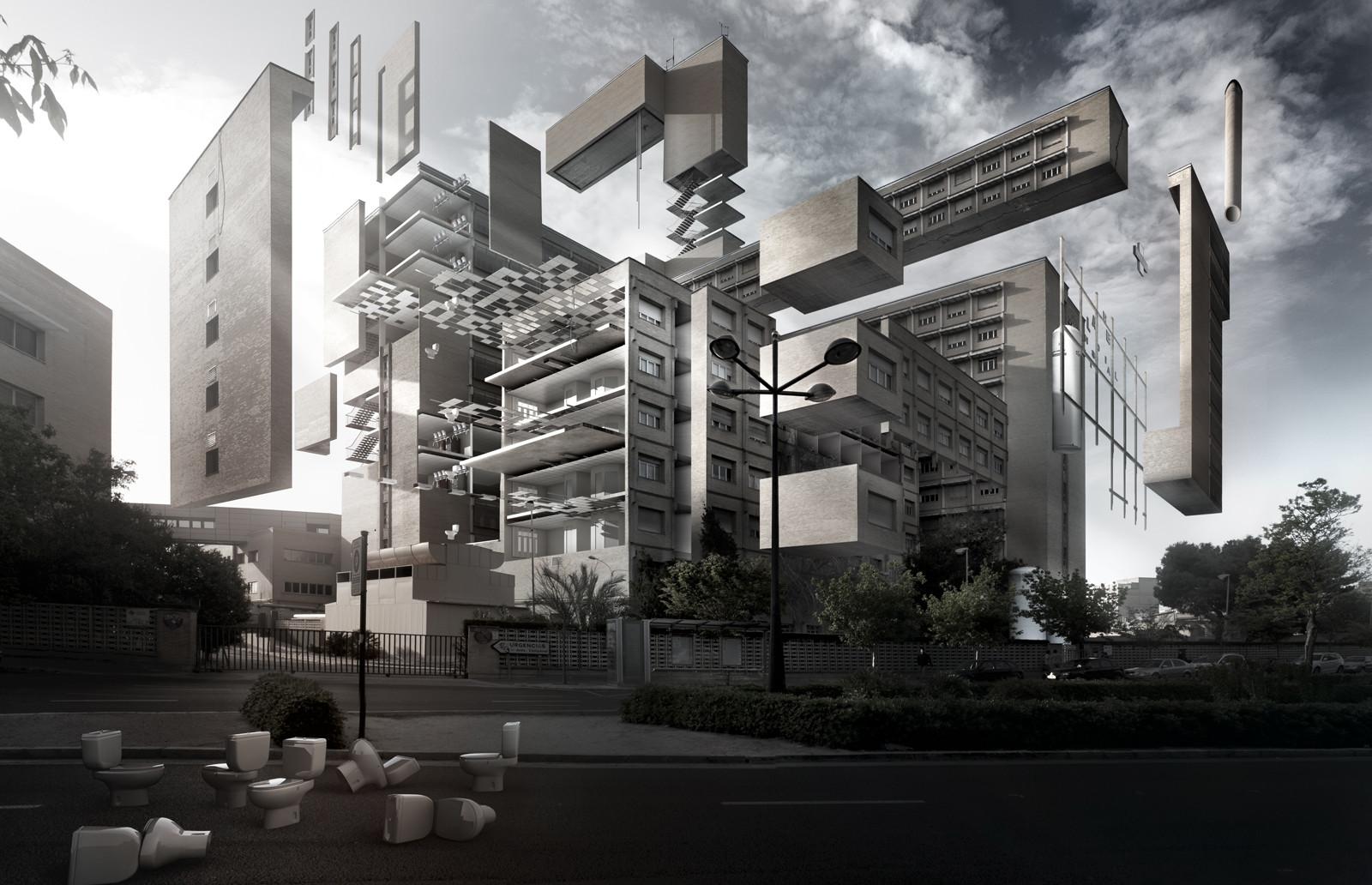 Arte y Arquitectura: Hospital Universitario La Fe / Espaimgr, Cortesia de Espaimgr