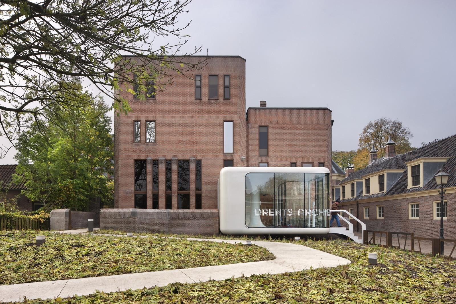 Drents Archive / Zecc Architecten