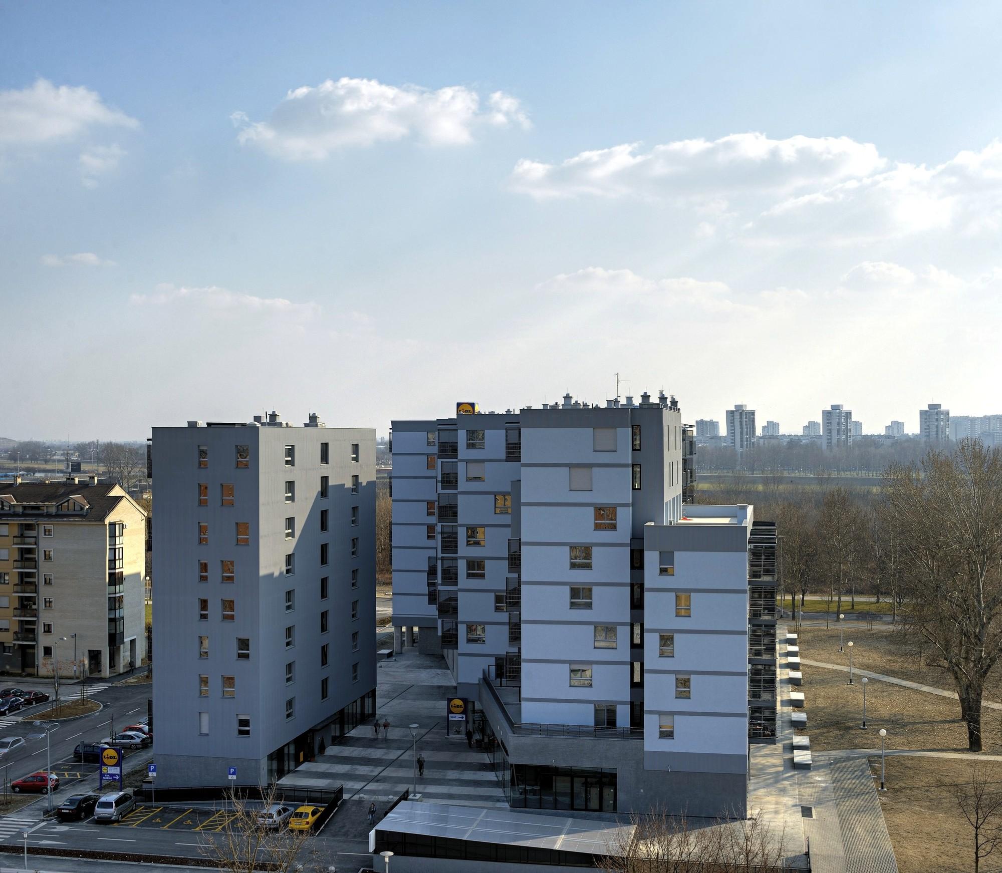 Savica business & residential building  / Studio Za Arhitekturu