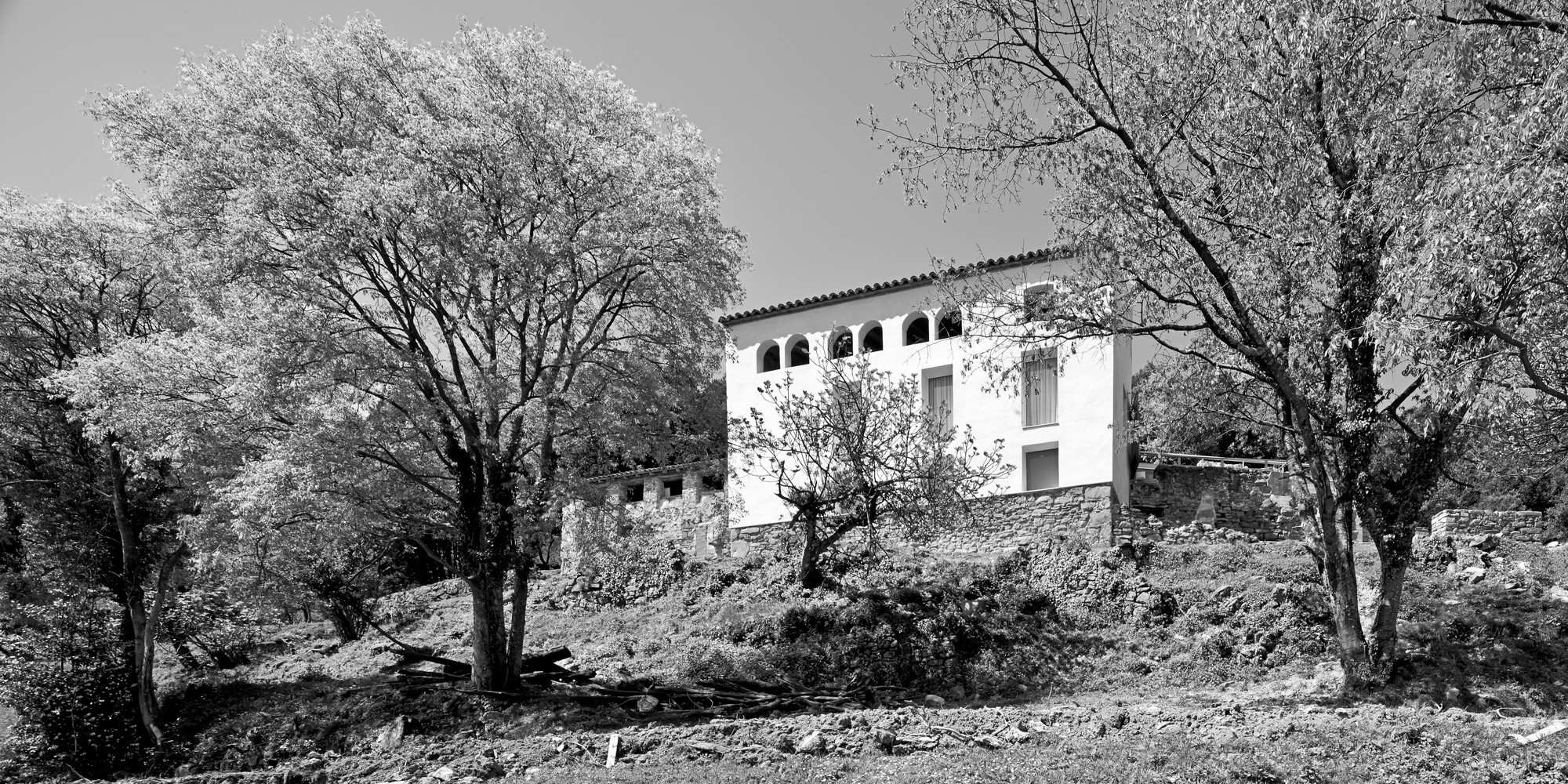 Reconstruction of an Old Rural Mansion / Dot Arquitectes, Courtesy of Dot Arquitectes