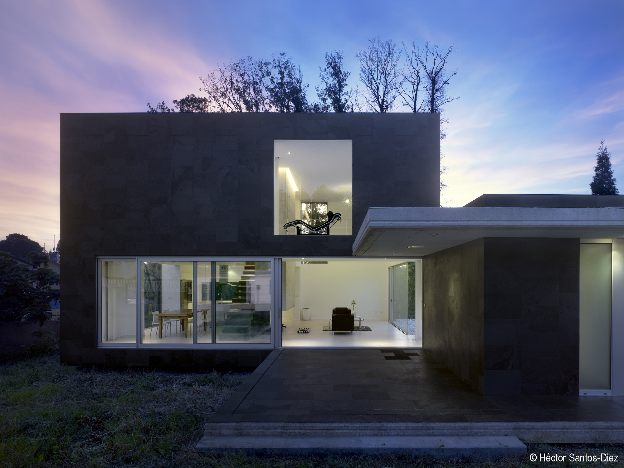 Casa EINS / Óscar Pedrós, © Héctor Santos-Diez