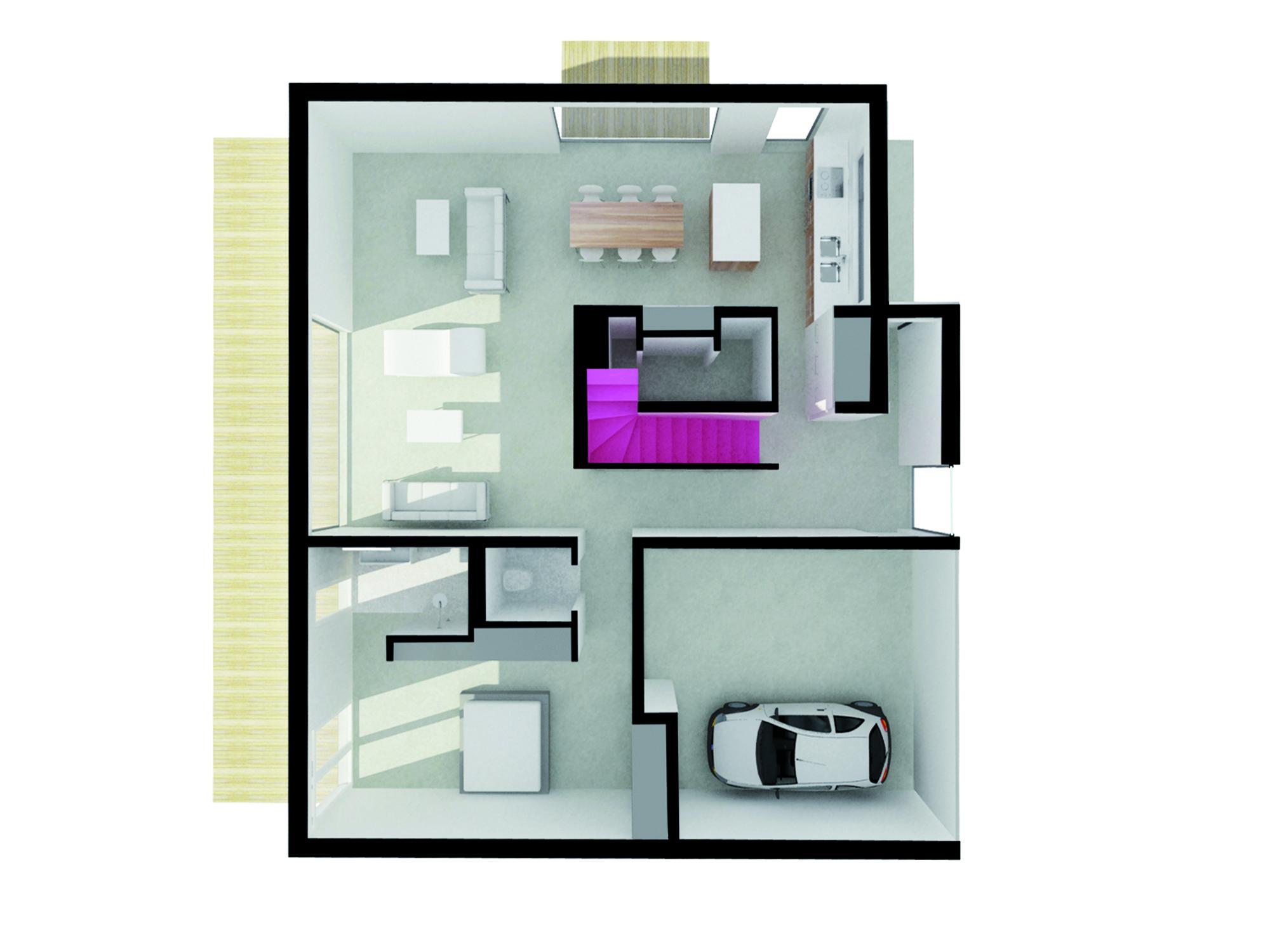 application plan maison cheap house plan maison etage. Black Bedroom Furniture Sets. Home Design Ideas