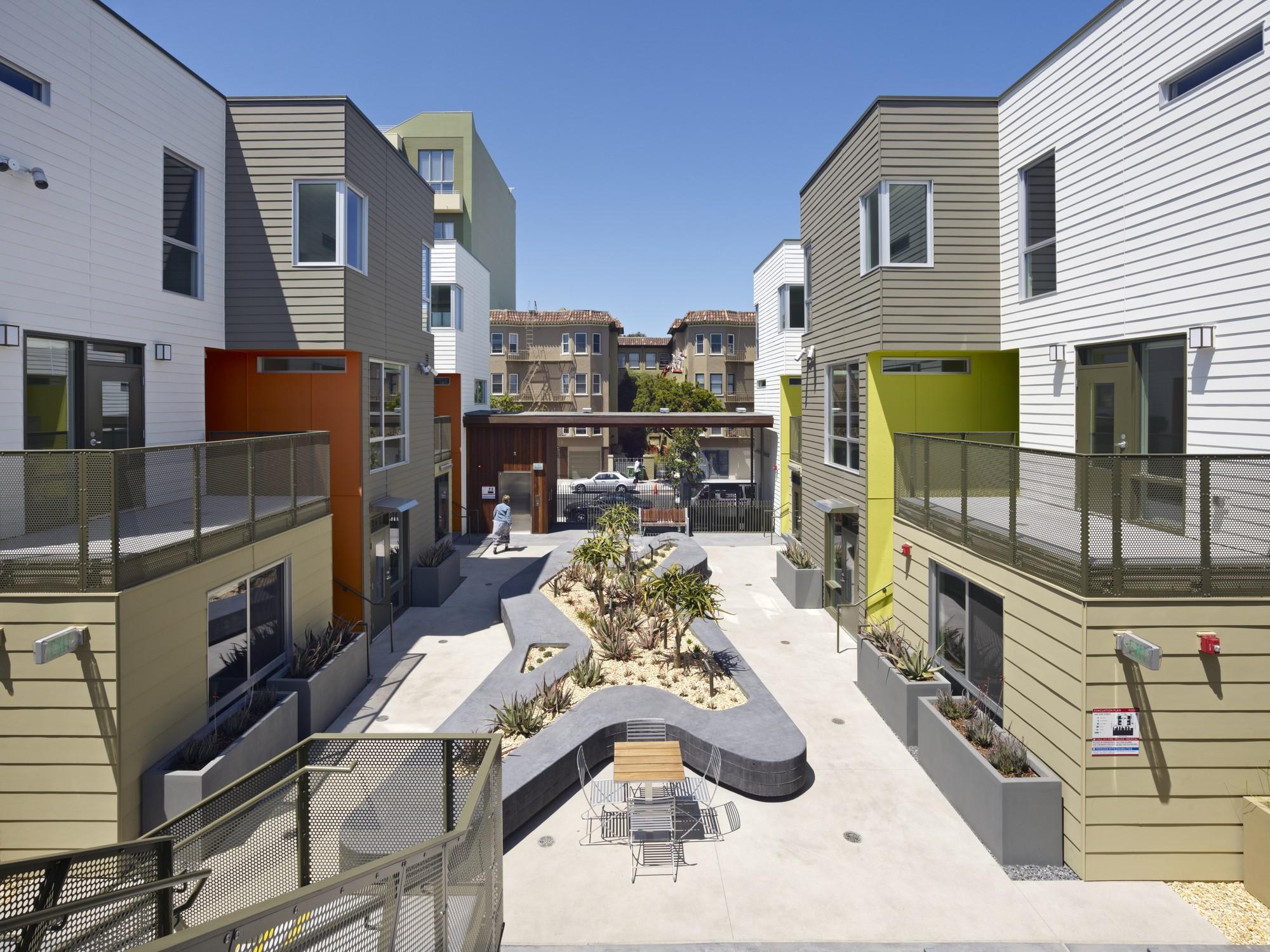 Fillmore Park / David Baker + Partners Architects, © Bruce Damonte