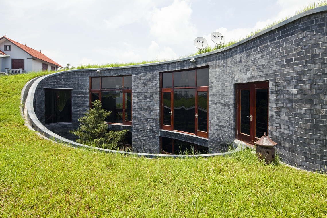 Stone House Vo Trong Nghia Architects Archdaily