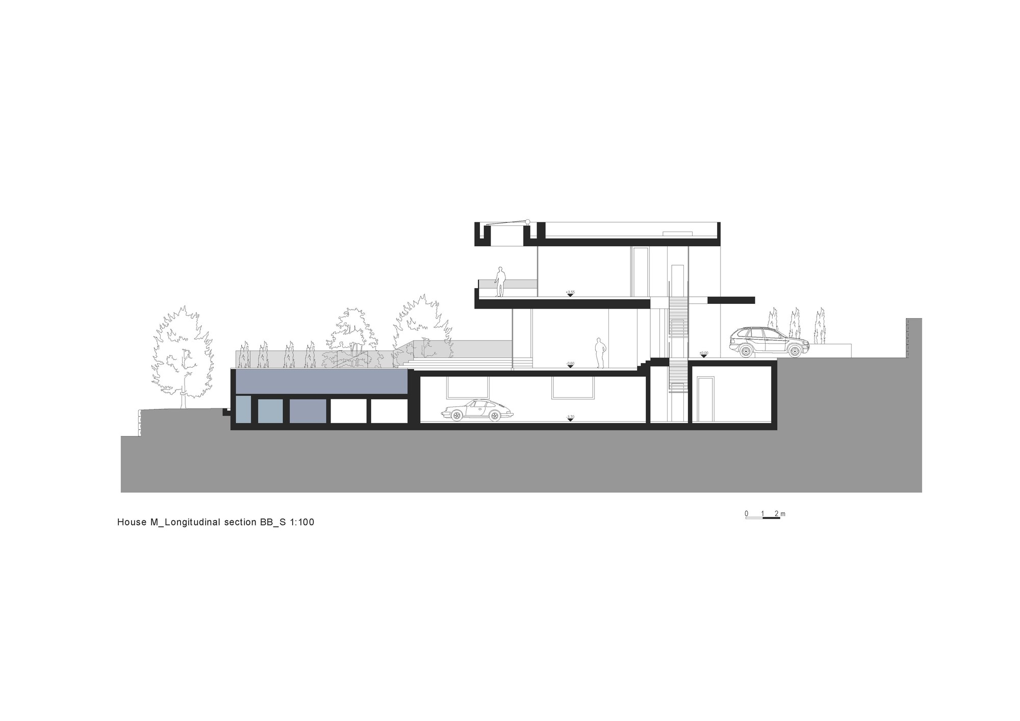 Gallery Of House M Monovolume Architecture Design 52