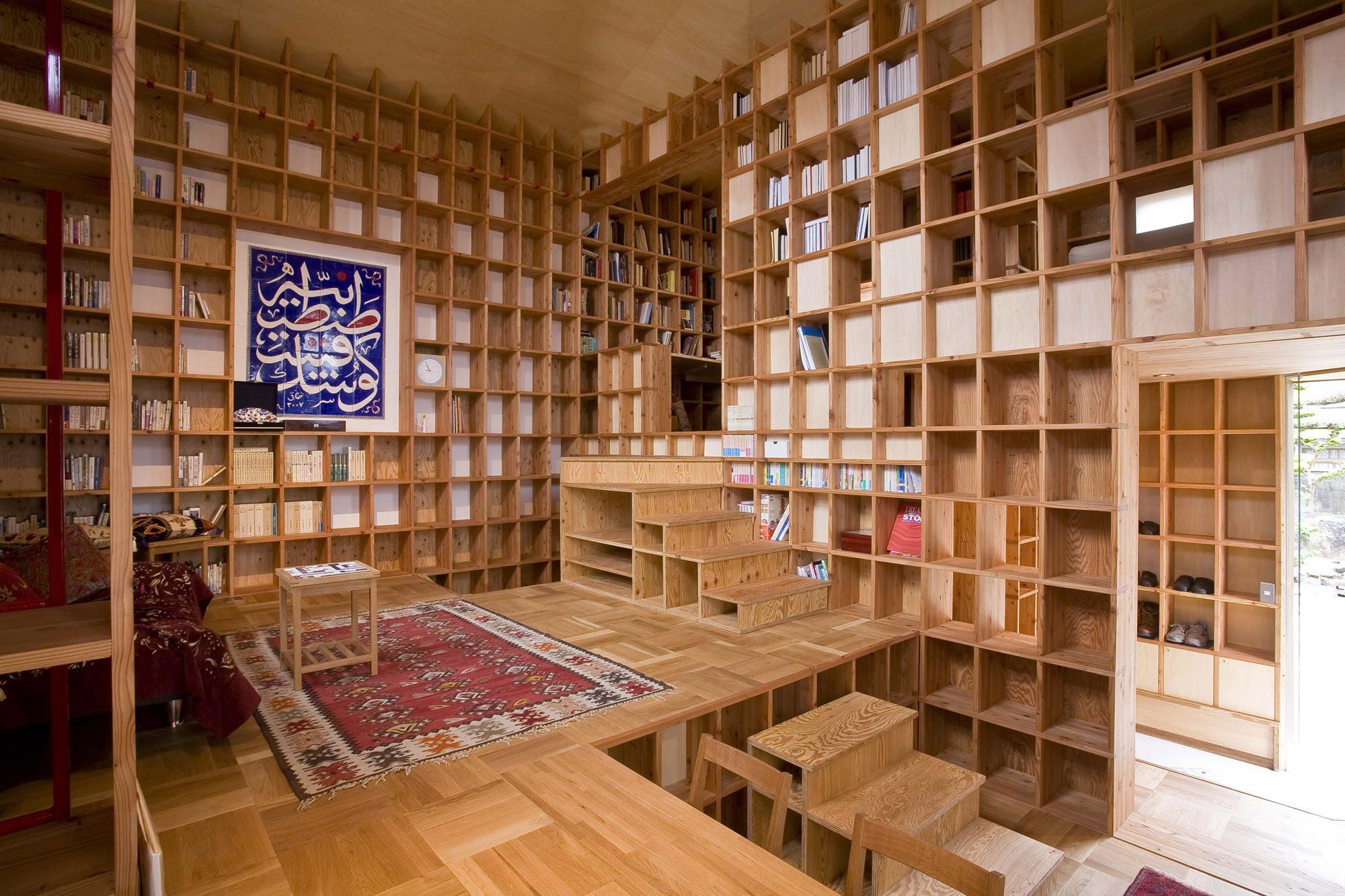 Shelf-Pod / Kazuya Morita Architecture Studio, © Shinichi Watanabe