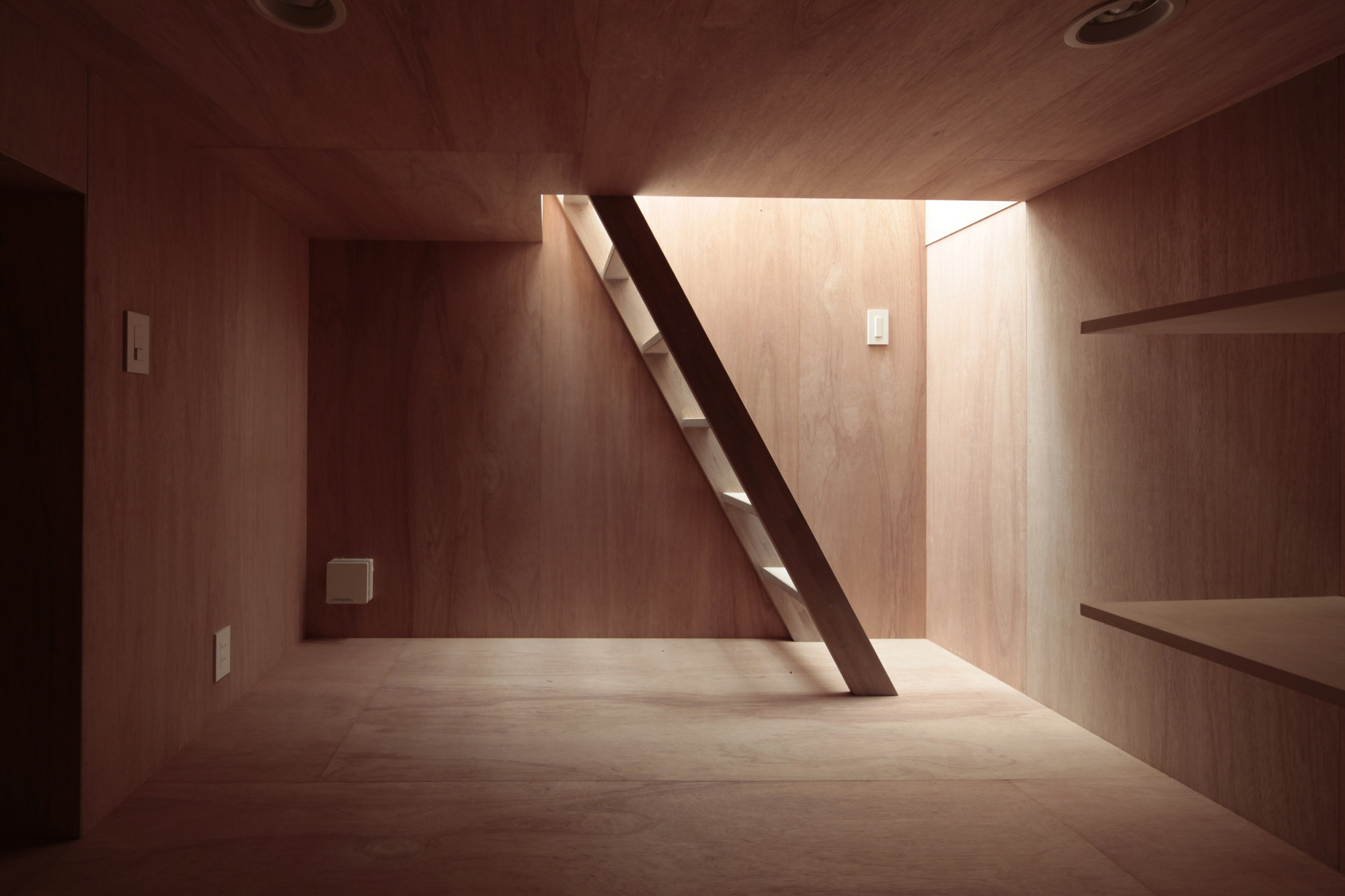 House With Eaves And An Attic / ON design partners