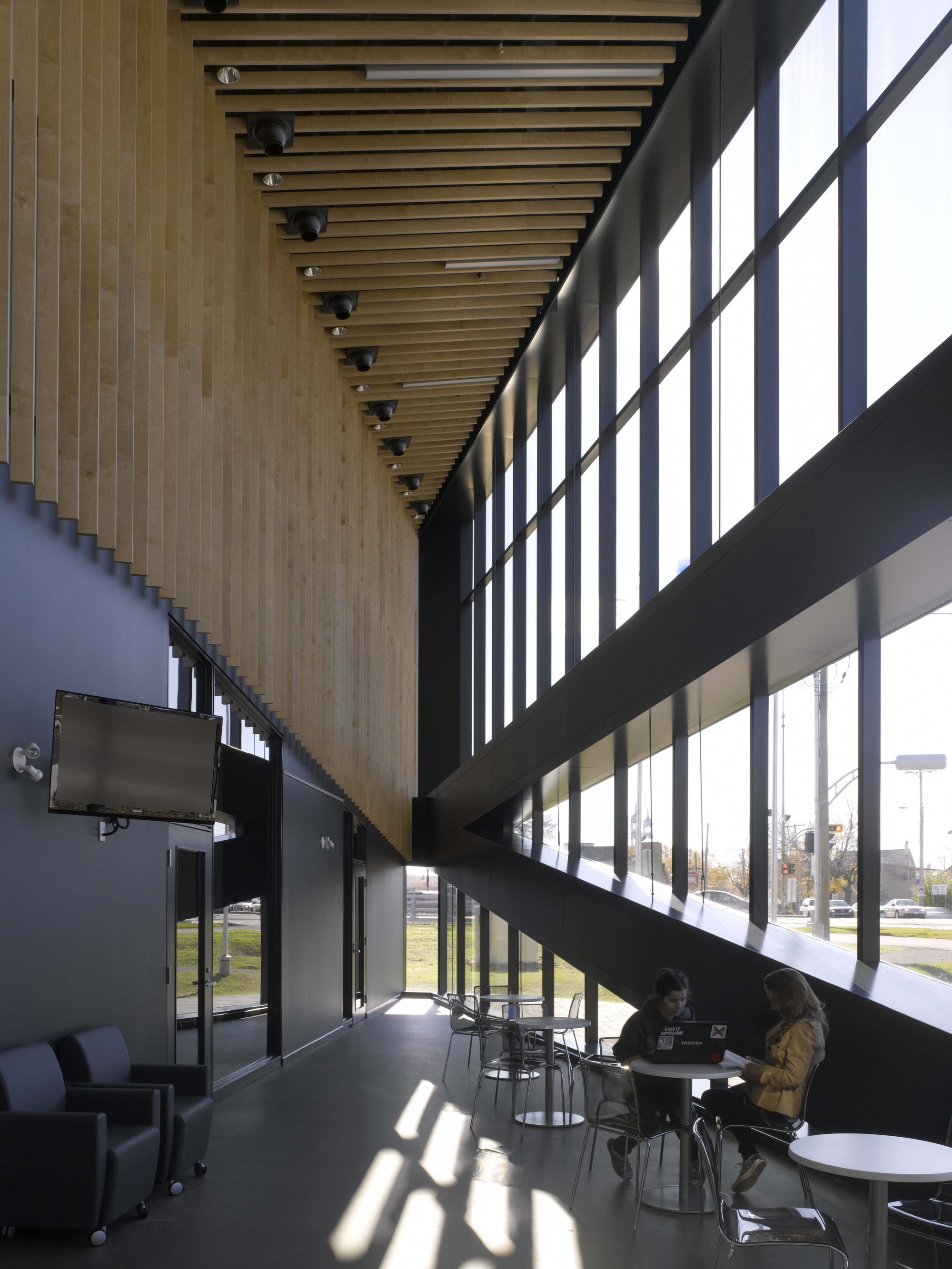 Gallery of saint eustache library acdf 14 for Acdf architecture