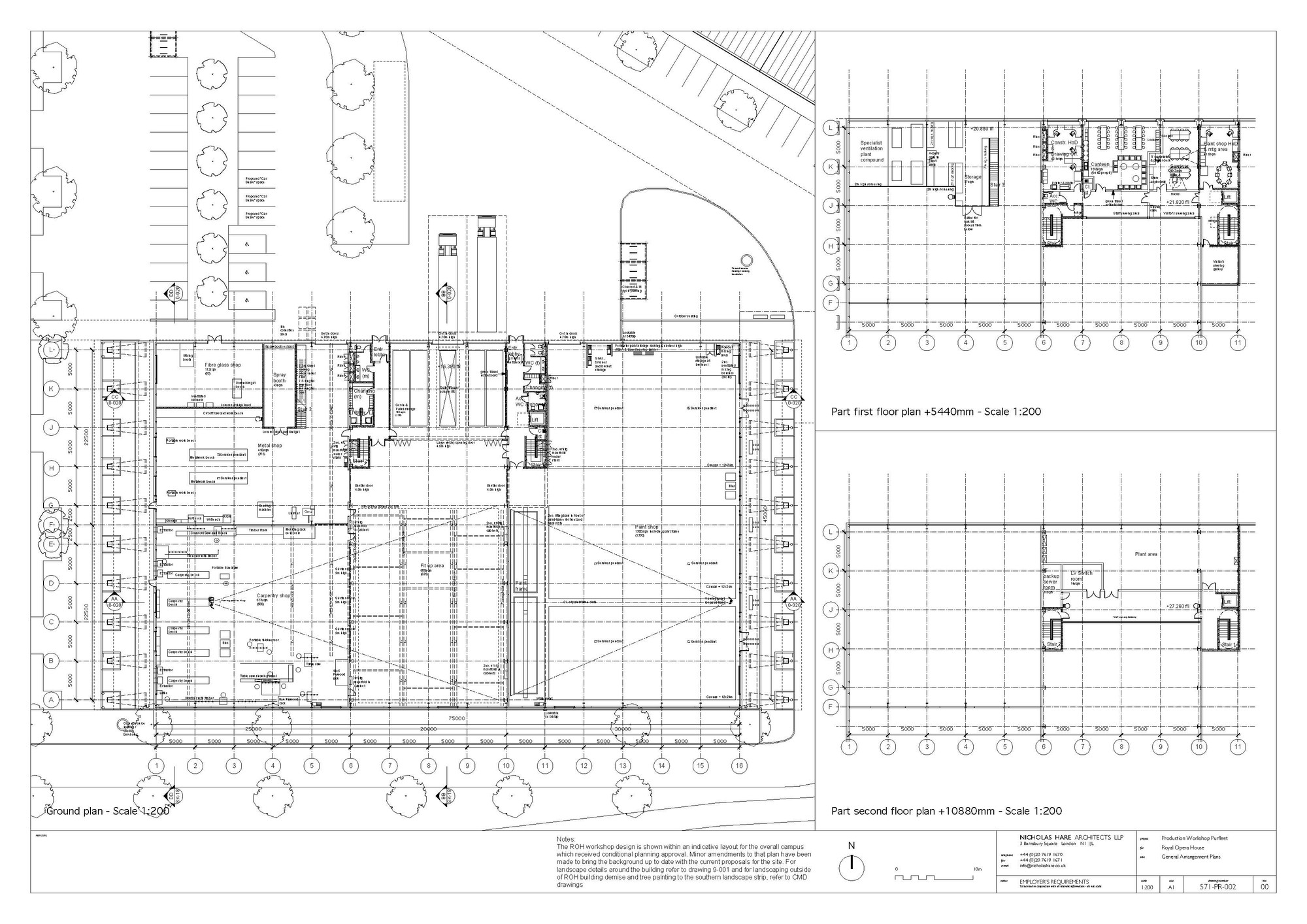 Royal opera house layout