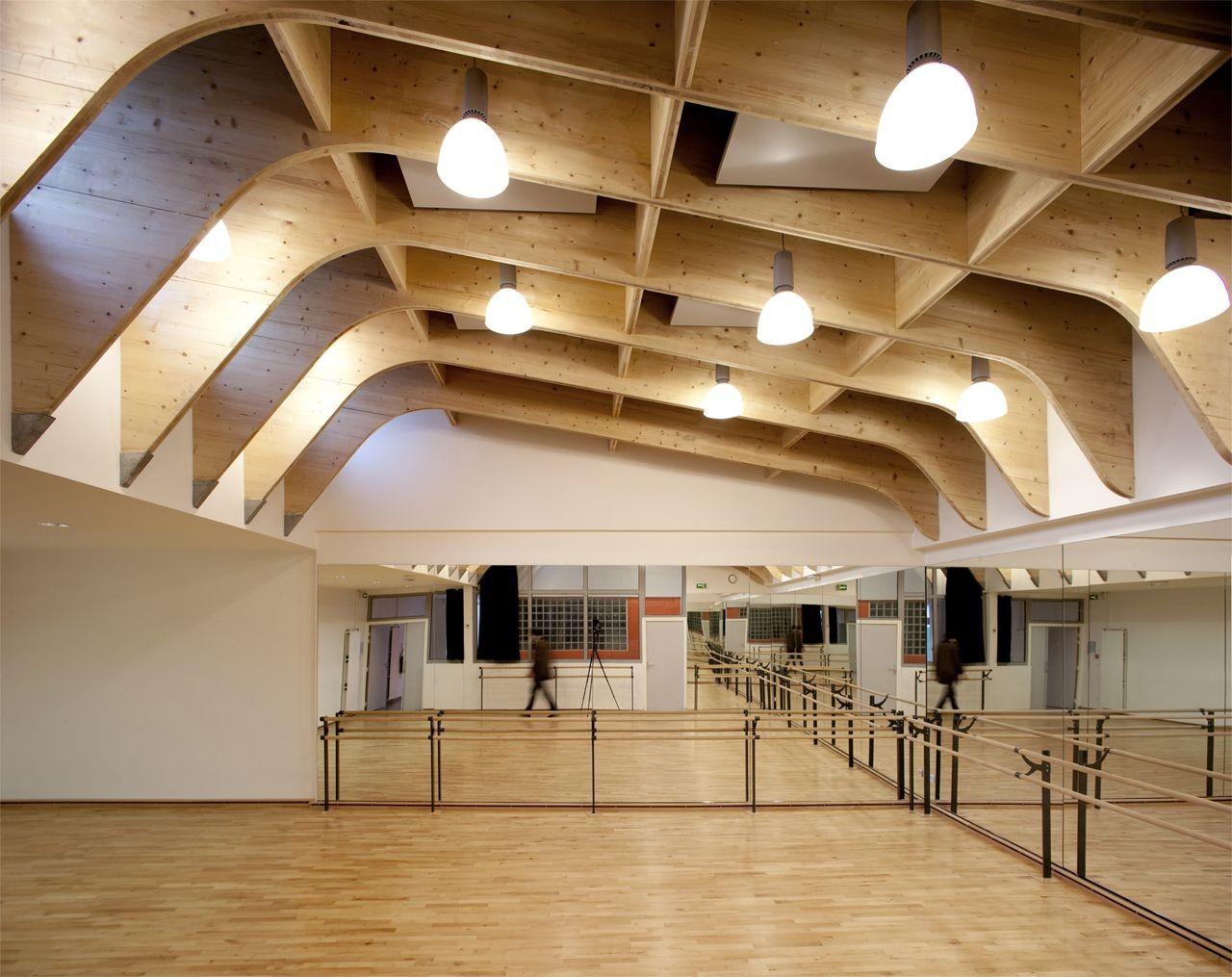 gallery of gymnasium r gis racine atelier d 39 architecture alexandre dreyss 11. Black Bedroom Furniture Sets. Home Design Ideas