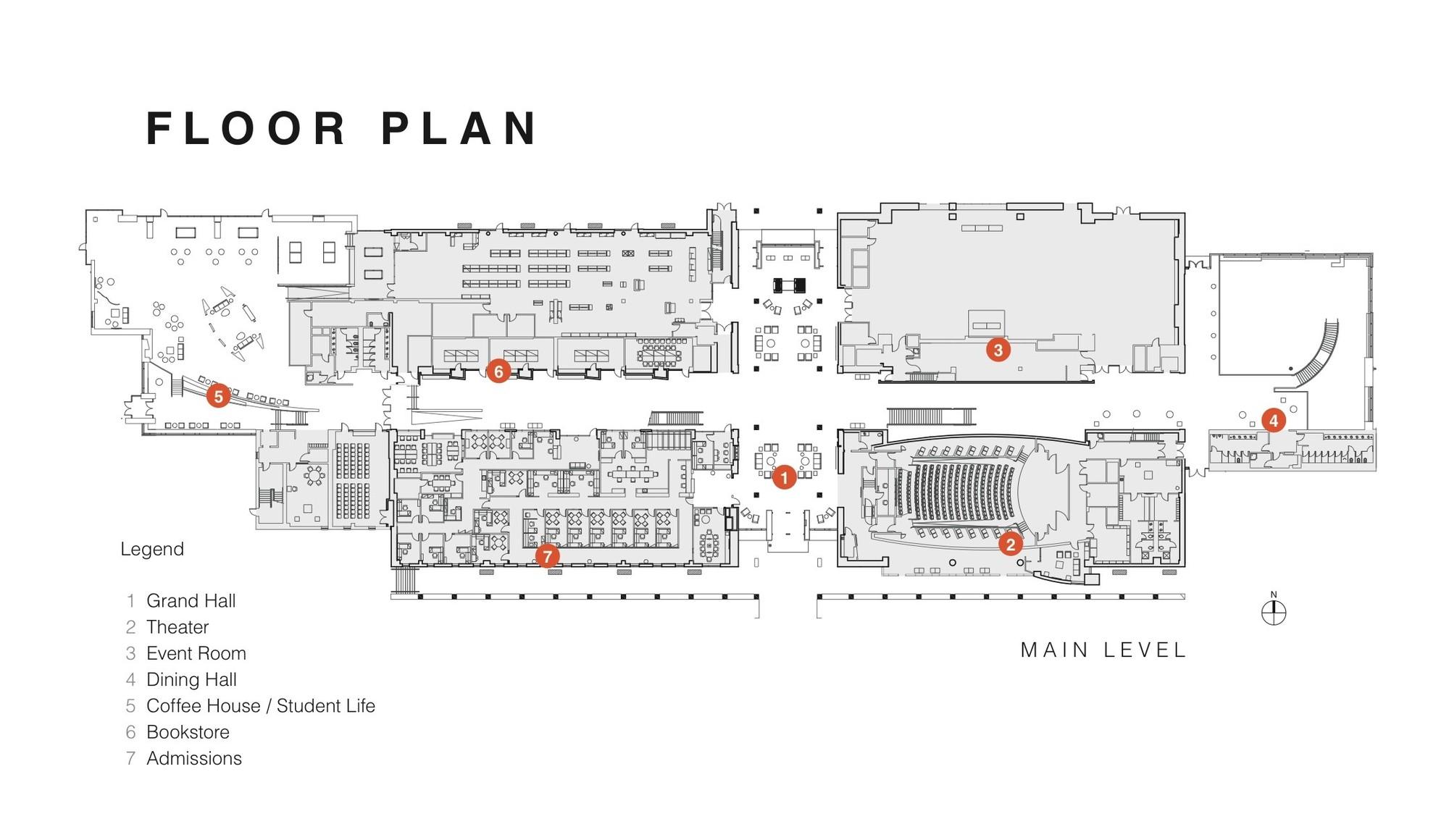 Stockton Campus Center / KSS Architects + VMDO Architects