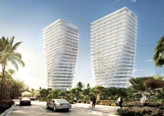 BIG revela imágenes de las torres que realizará en Miami, © Vía BDonline
