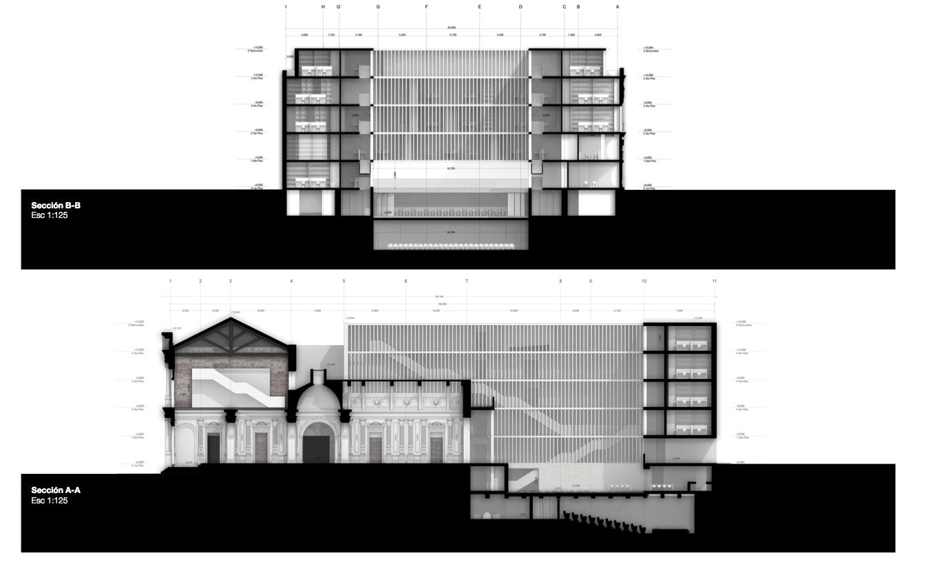 Galer a de menci n concurso puesta en valor y renovaci n for Arquitectura nota de corte