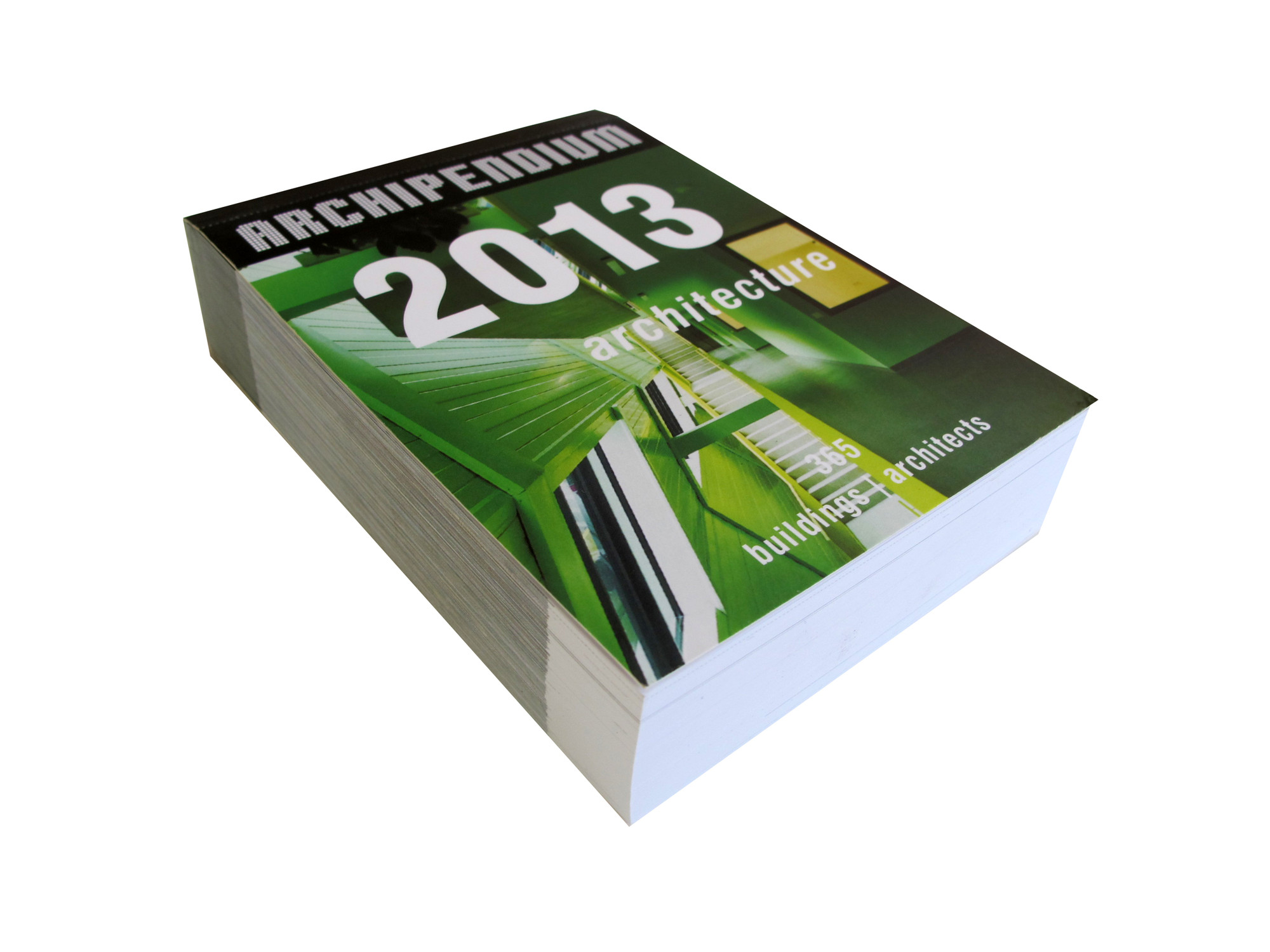 2013 ARCHIPEDIUM Architectural Calendar, Courtesy of archimap publishers