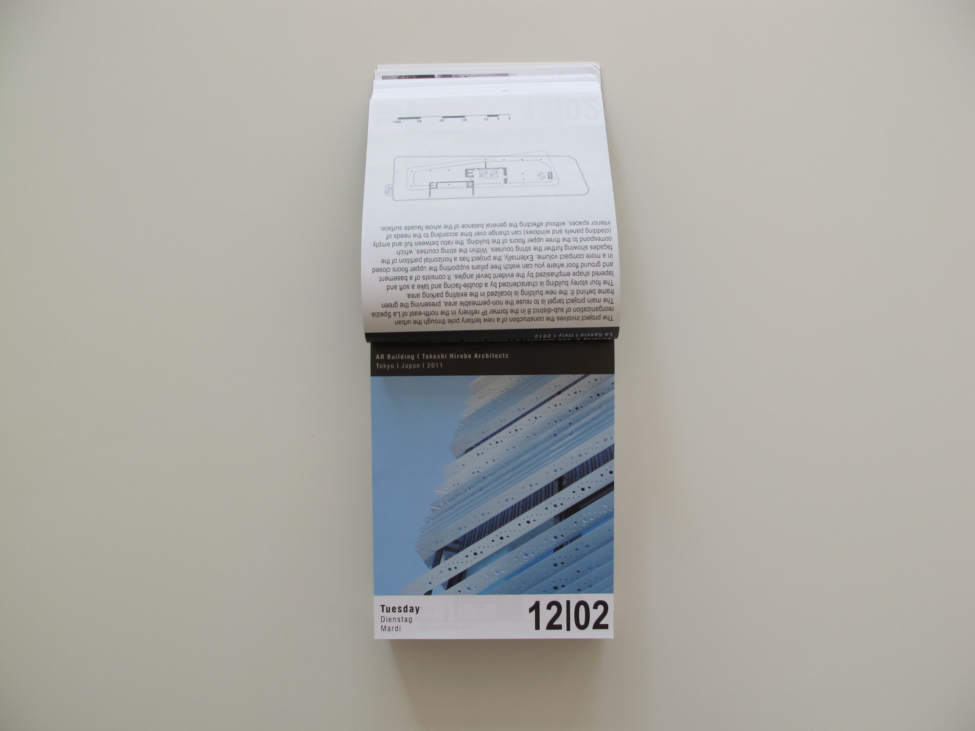 2013 ARCHIPEDIUM Architectural Calendar
