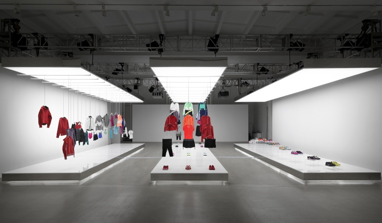 Nike Pop Up Showroom / Maggie Peng & Albert Tien
