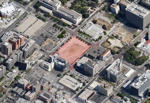 Palacio de Justicia de L.A. - Imagen cortesía de Google Maps