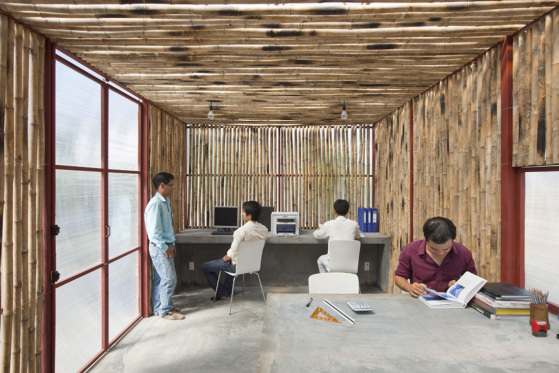 Gallery of low cost house vo trong nghia architects 13 - Accessori casa design low cost ...