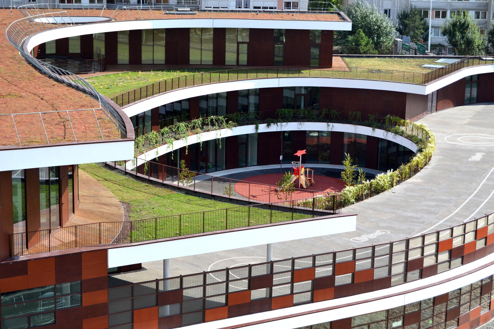 Gallery of complex school in bobigny mikou design studio for Studio 11 architecture