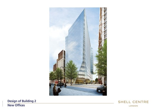 Building 2 – office use; Kohn Pedersen Fox Associates (KPF). Image courtesy of The Canary Wharf Group.