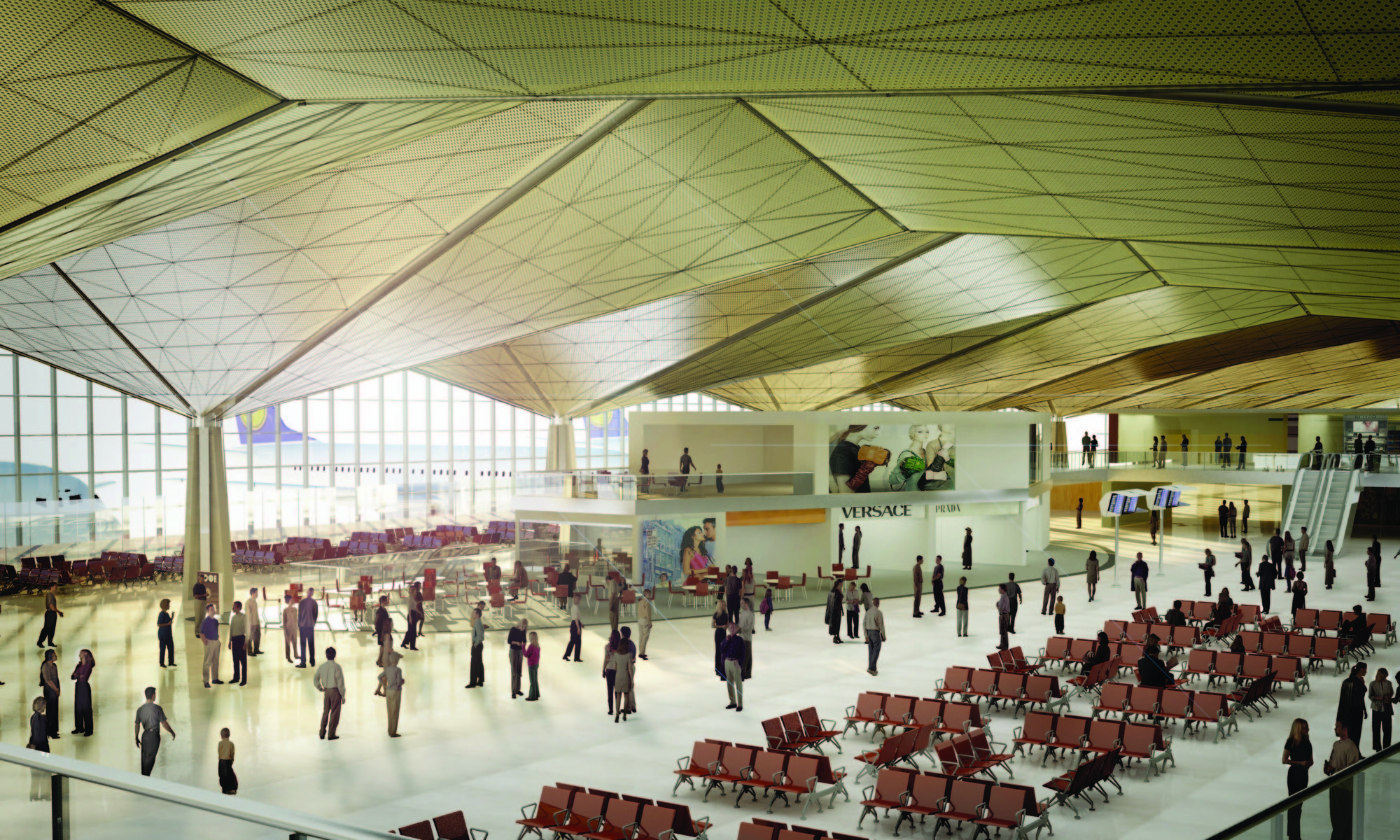 In Progress: Pulkovo Airport / Grimshaw Architects