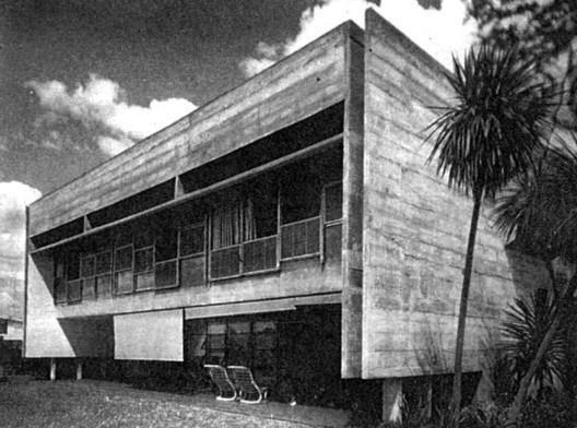 Residencia Celso Vieira Mello / Paulo Mendes da Rocha e João de Gennaro - Fuente- Revista Acrópole n.343, set.1967