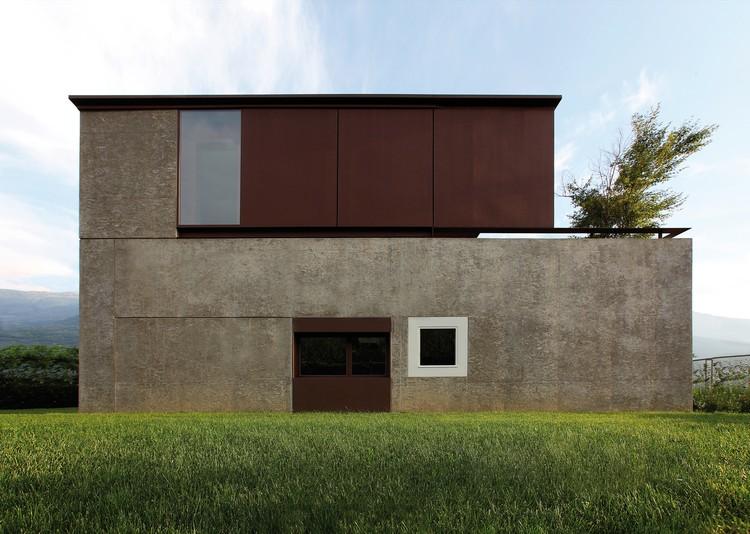 Casa DMB / act_romegialli, © Filippo Simonetti