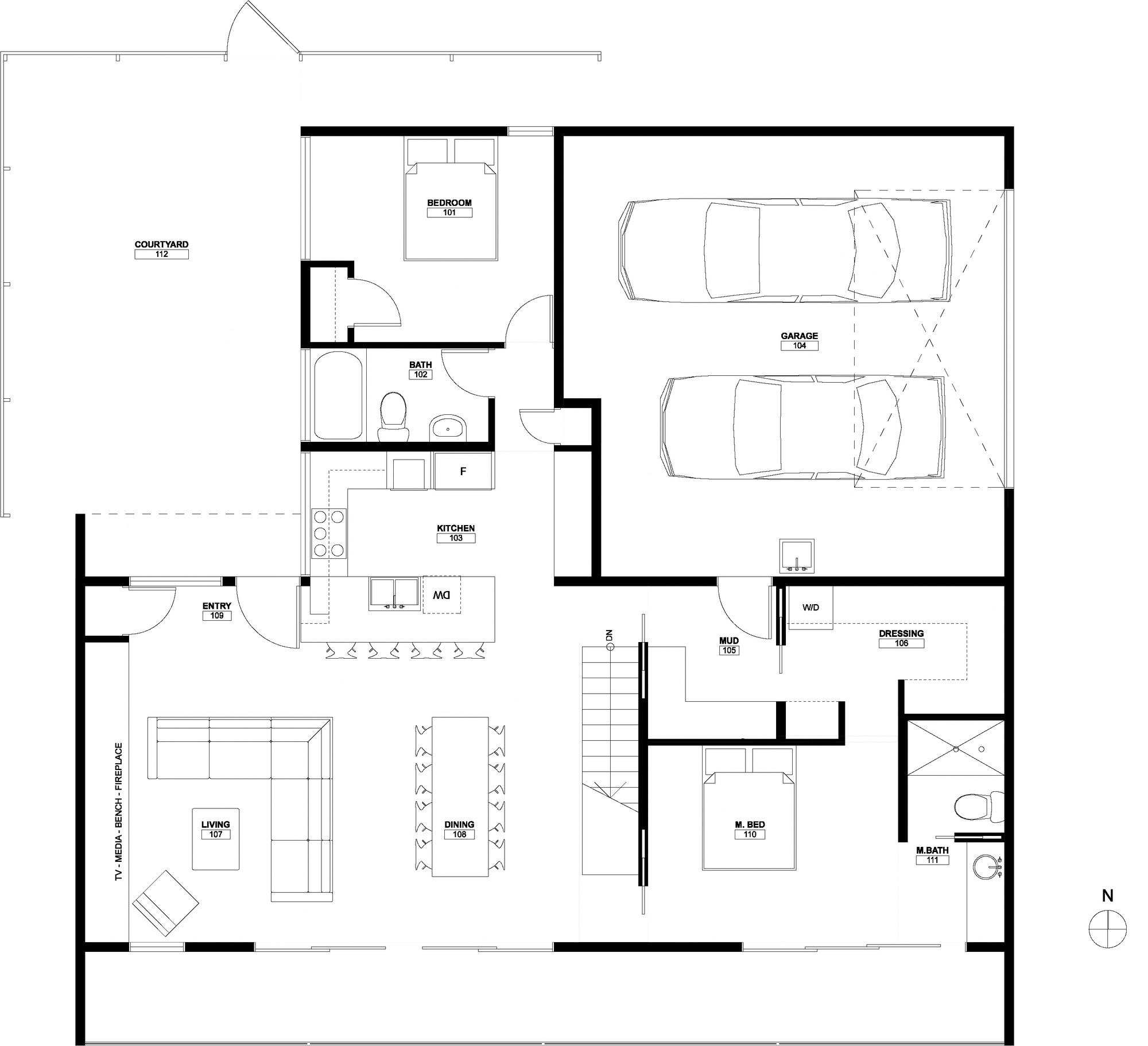 Burgess Residence / John Dwyer Architect