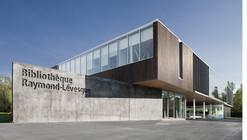 Bibliothèque Raymond-Lévesque  / Manon  Asselin + Jodoin Lamarre Pratte