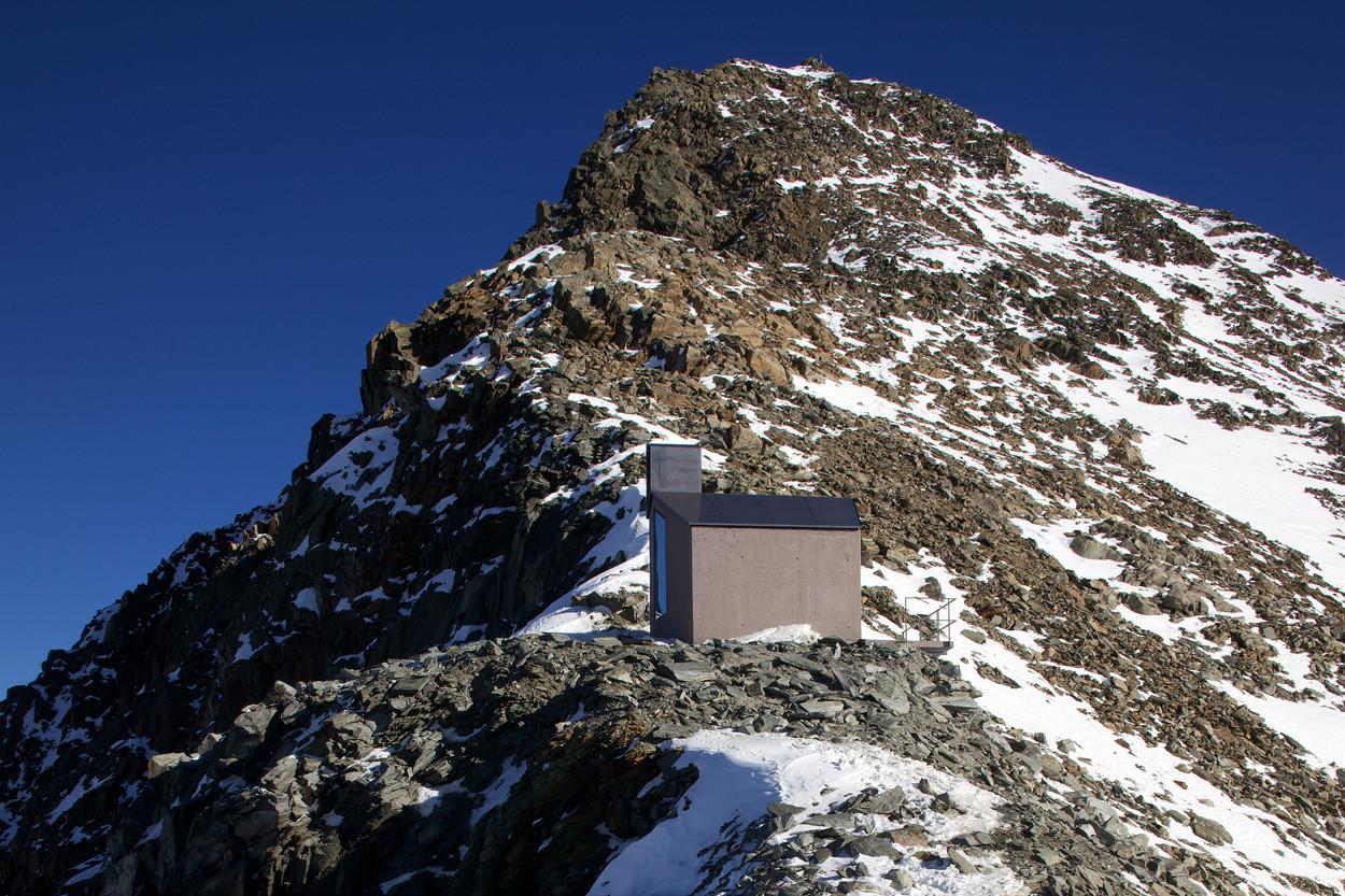 Chapel Schaufeljoch / AO Architekten