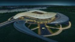Copa Mundial 2018 : Populous Ganó Diseño del Rostov Stadium / Populous