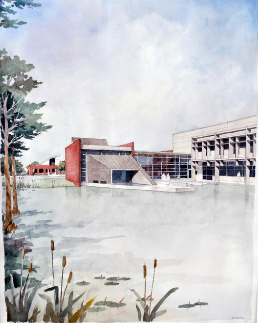 This sketch will be auctioned today, December 19th. Eskew+Dumez+Ripple 