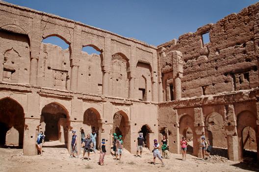 Curso sobre tierra cruda en Marruecos organizado por cooperación interuniversitaria © Ana Asensio