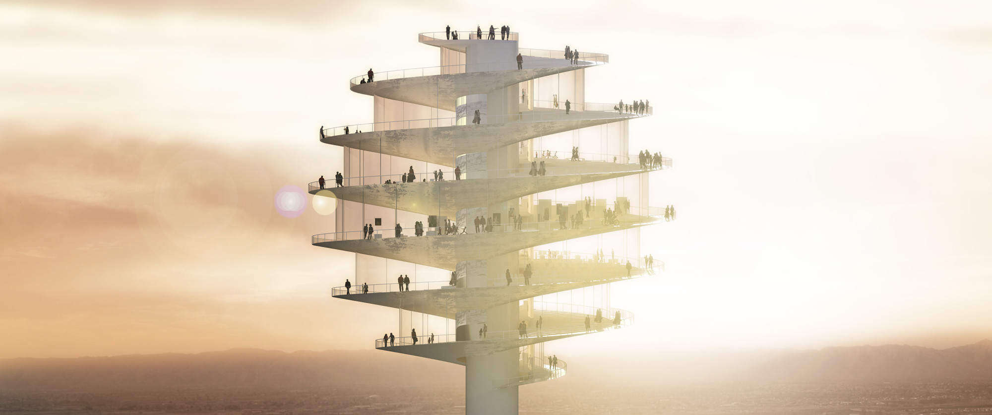 Phoenix Observation Tower / BIG, Courtesy of BIG Architects