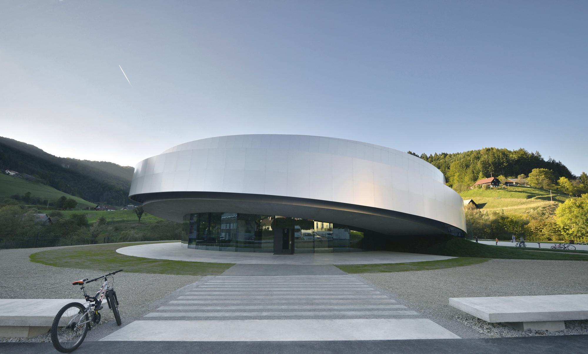 Cultural Center of EU Space Technologies / Dekleva Gregoric Arhitekti + SADAR + VUGA + OFIS architects + Bevk Perovic Arhitekti, © Tomaz Gregoric