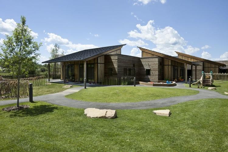 Centro de Aprendizaje para niños en Teton / Ward+Blake Architects + D.W. Arthur Associates Architecture, Inc., © Roger Wade Studios