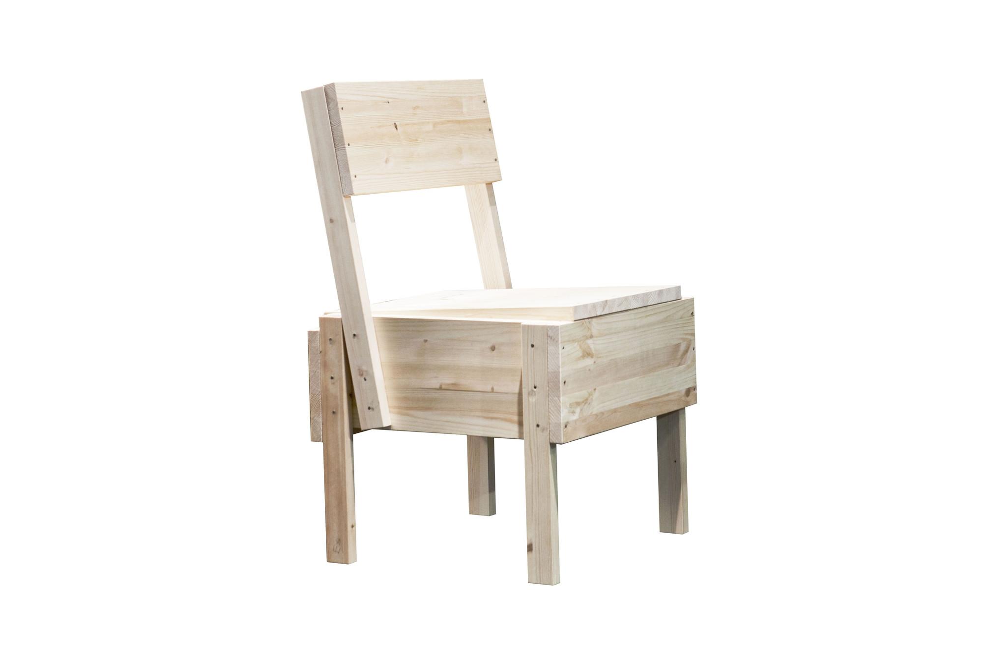 silla sedia 1 enzo mari plataforma arquitectura