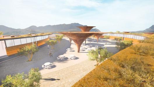 Cortesia de Carsolio Arquitectos + TABB Architecture