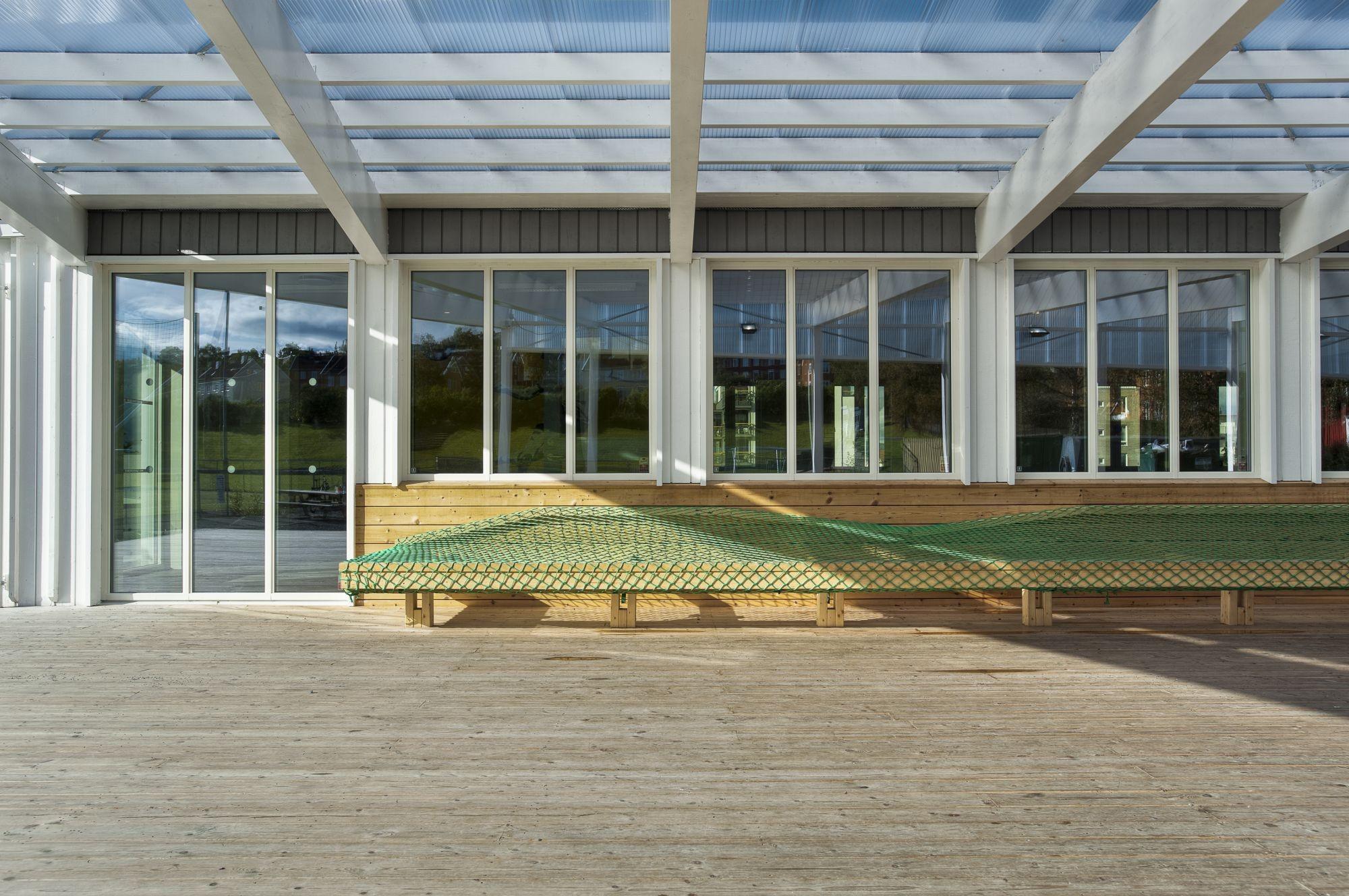 Trond clubhouse / Bjørke Arkitektur + Steffen Wellinger