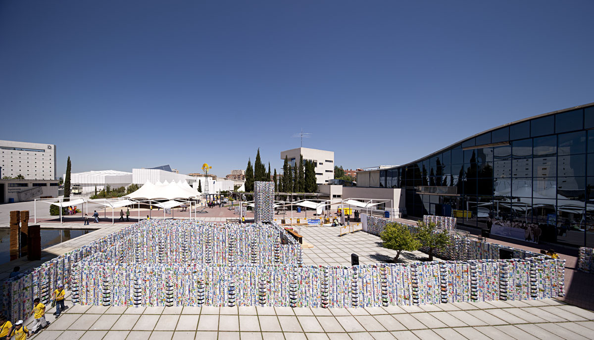Pavilion of Tetrabriks / CUAC Arquitectura + Sugarplatform