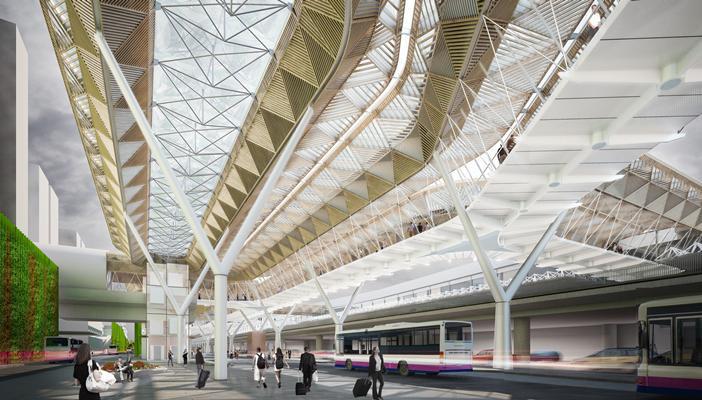 Grimshaw diseña una extensión para el aeropuerto de Frankfurt, Cortesía de BDonline