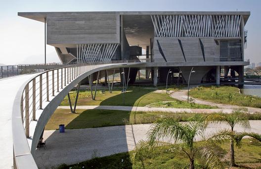 Se inaugura la Ciudad de las Artes de Portzamparc / Río de Janeiro, Cortesía de Revista Techné