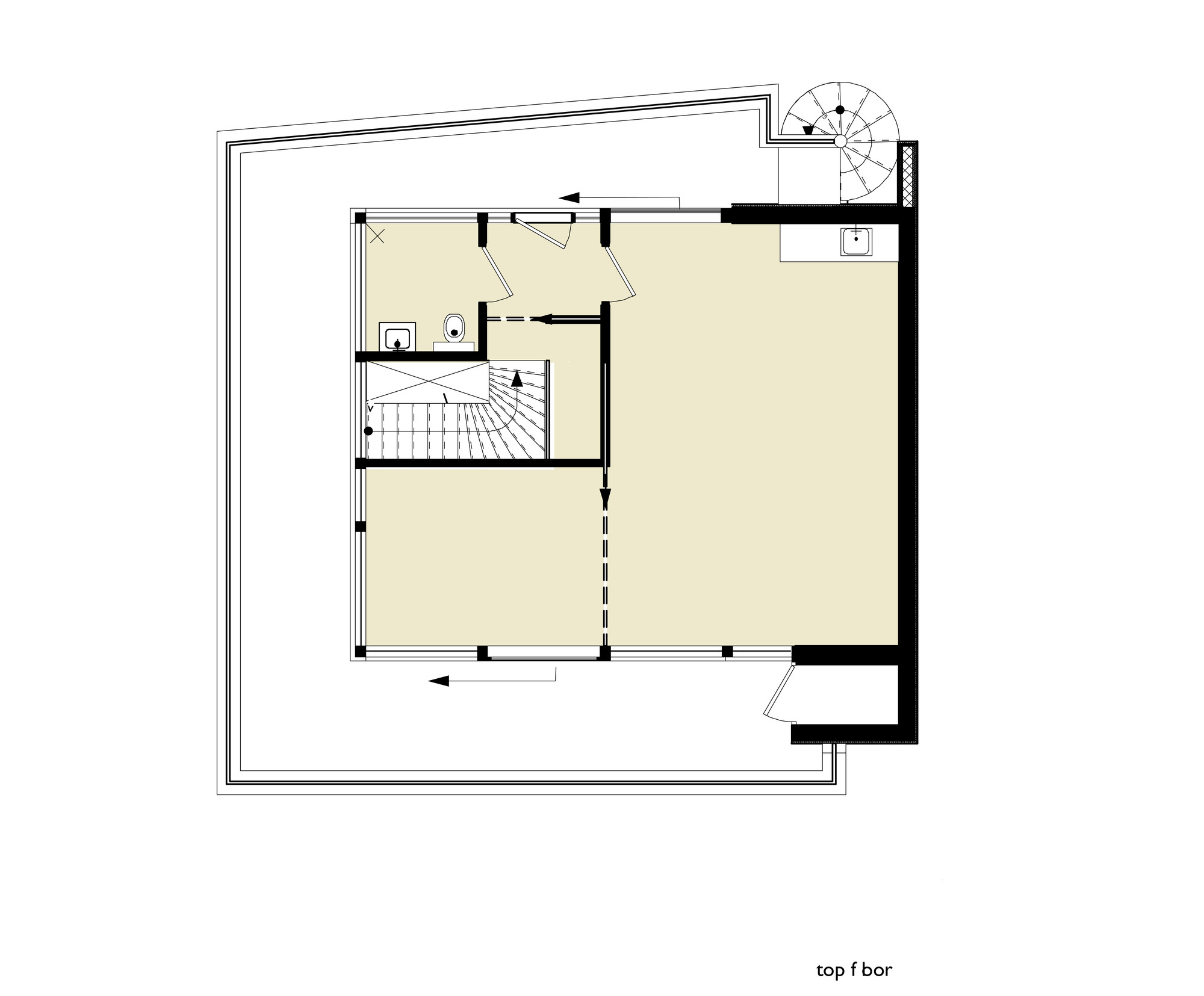 Villa Rieteiland Oost,Top Floor Plan