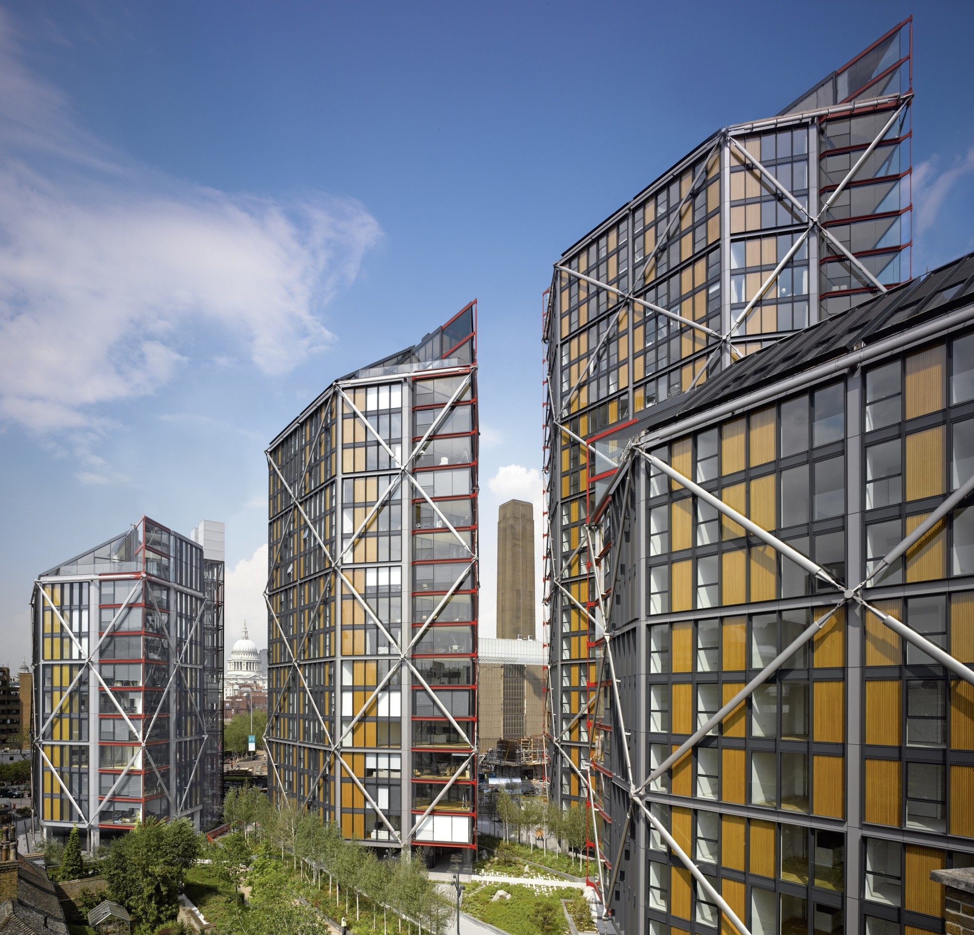 Neo bankside rogers stirk harbour partners archdaily for Architecture londres