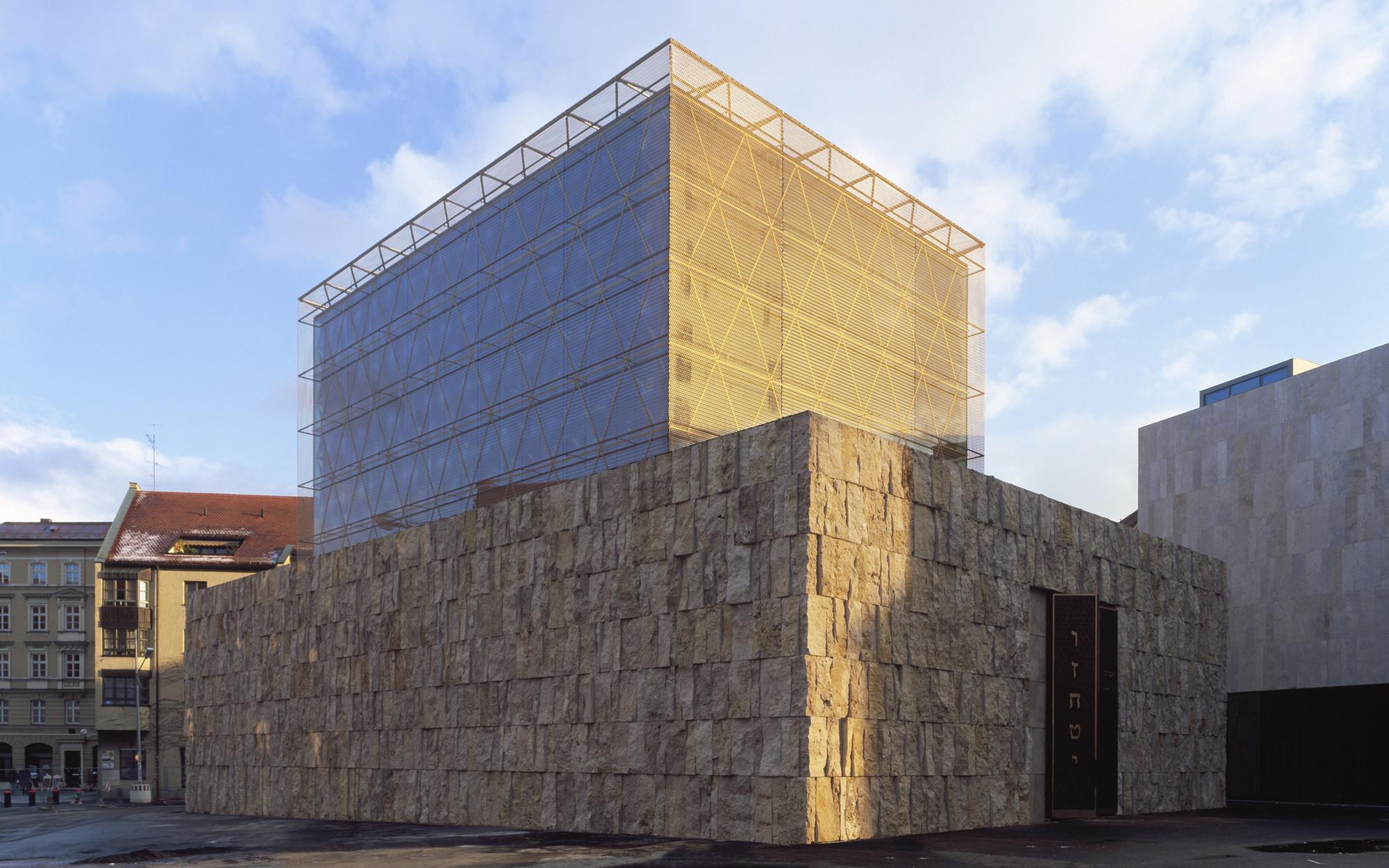The Jewish Center in Munich / Wandel Hoefer Lorch + Hirsch, © Roland Halbe