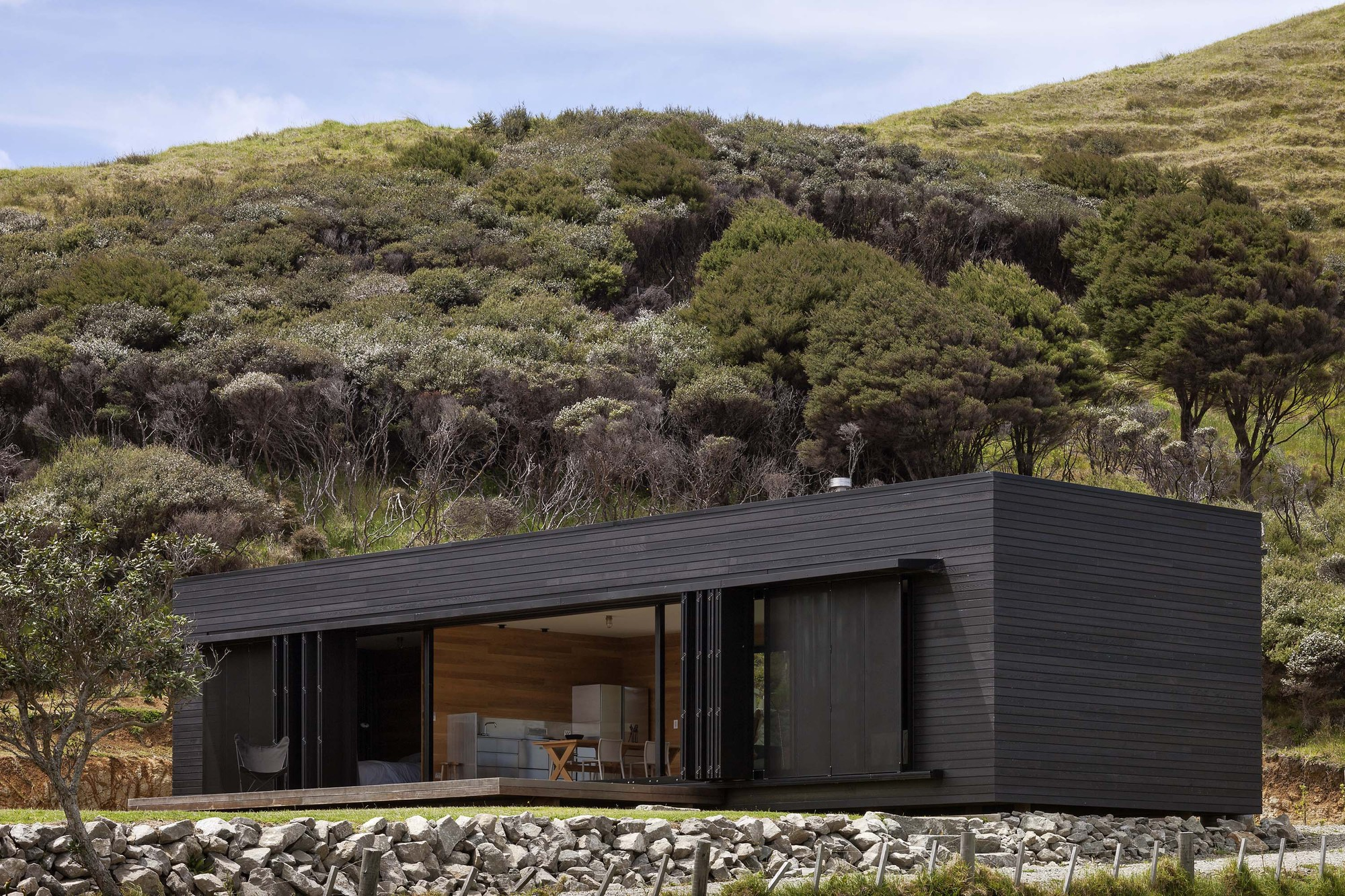 Storm Cottage / Fearon Hay Architects, © Patrick Reynolds
